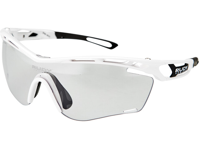 Rudy Project Tralyx Slim Lunettes, white gloss - impactx photochromic 2 black